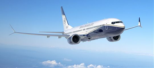 Самолет BOEING BUSINESS JET (BBJ)