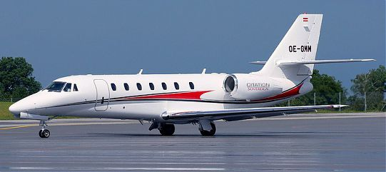 Самолет Citation Sovereign