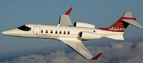 Самолет Learjet 40XR/45XR